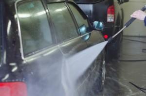 снятие сильного загрязнения с помощью АВД ( Аппарата Высокого Давления)